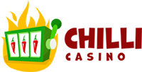 Chilli Casino logo in 200 by 102 pixels