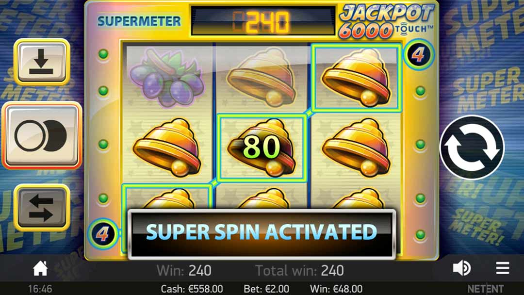 Screenshot of Jackpot 6000 Toouch