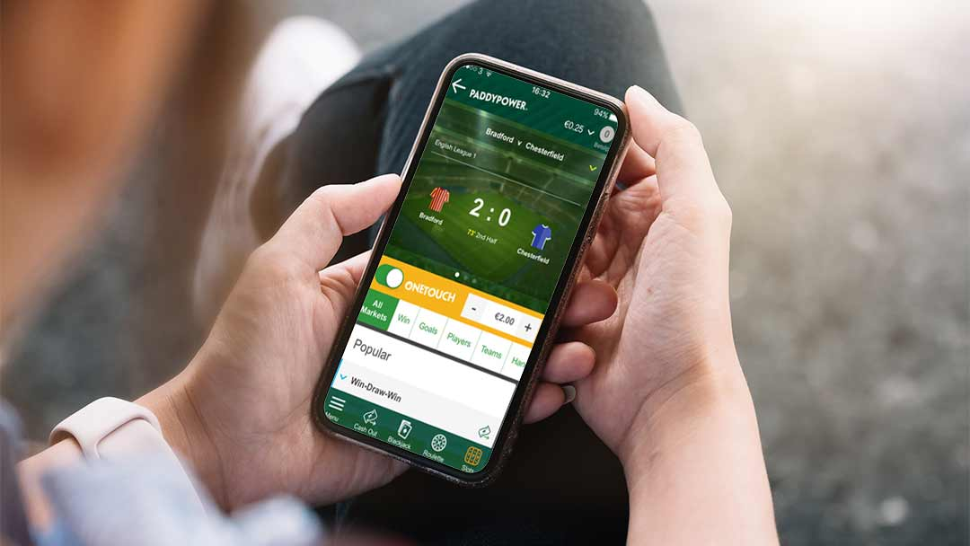 Betting on mobile is convenient