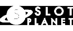 Slot Planet Logo, White transparent logo
