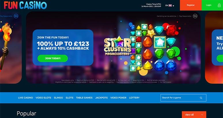 Screenshot Fun Casino