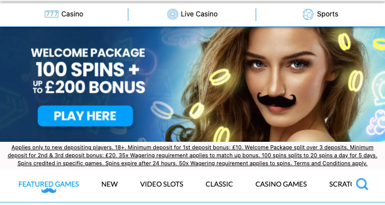 Screenshot MrPlay Casino