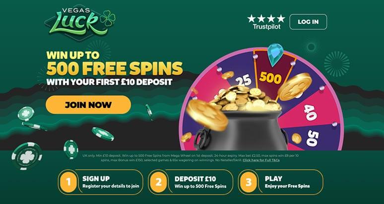 Screenshot Vegas Luck