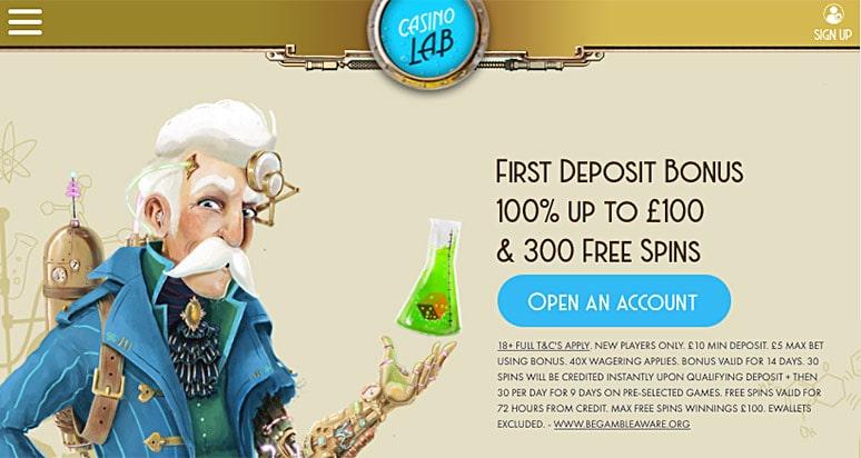 Screenshot Casino Lab