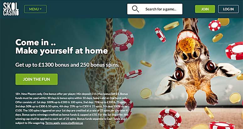 Screenshot Skol Casino